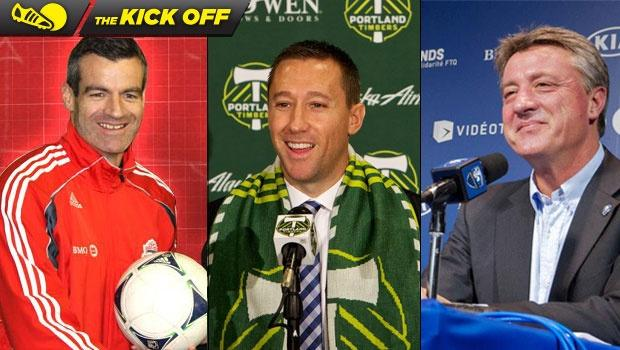 Kick Off: One day, three new head coaches in MLS