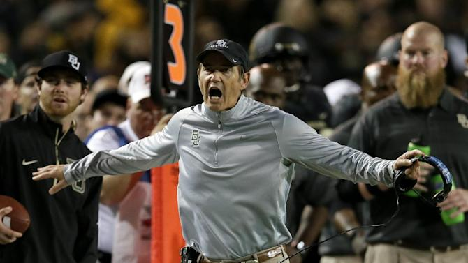 Briles' college coach career started at alma mater