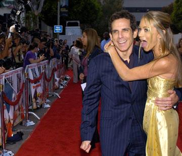 Ben Stiller and Christine Taylor at the Los Angeles premiere of 20th Century Fox's Dodgeball: A True Underdog Story