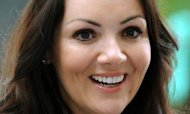 Bankrupt Martine McCutcheon Thanks Her Fans