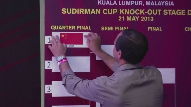Indonesia to face China in Surdirman Cup