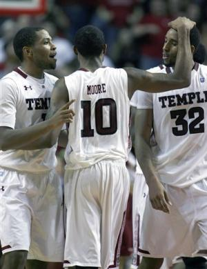 No. 23 Temple outlasts UMass 90-88 in OT