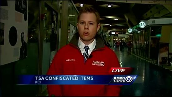 TSA shows off confiscated contraband