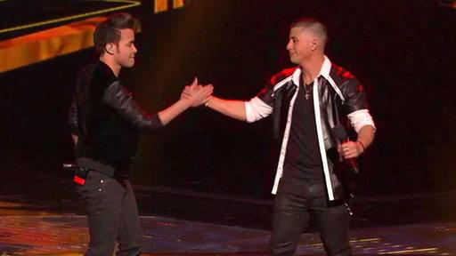 "Top 3: Carlito Olivero Sings ""Stand by Me"" With Prince Royce"