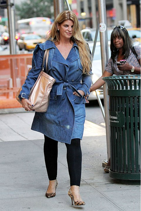 Kirstie Alley NYC