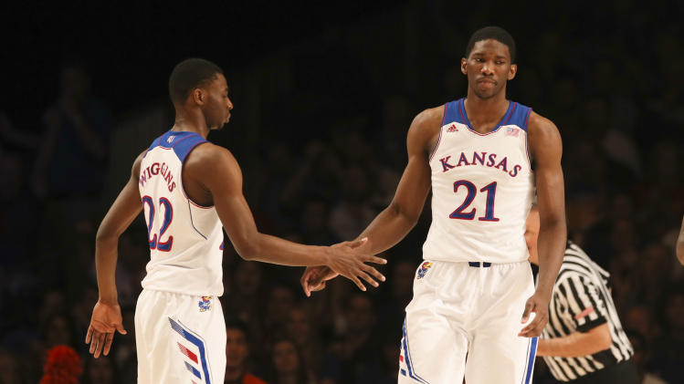 The Cavaliers and Sixers are reportedly focusing on Joel Embiid…