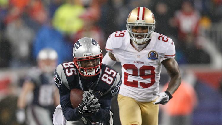 NFL: San Francisco 49ers at New England Patriots