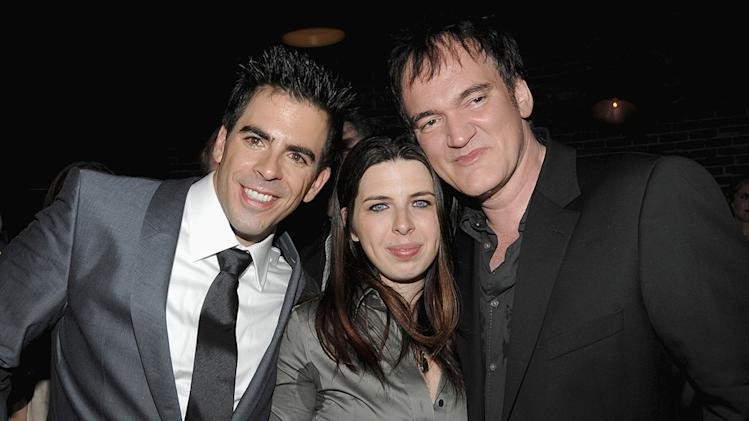 Inglourious Basterds NY Screening 2009 Eli Roth Quentin Tarantino Heather Matarazzo