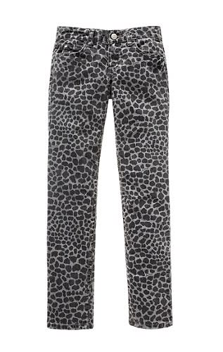 Juicy Couture Girls Leopard Print Skinny Jean, $98