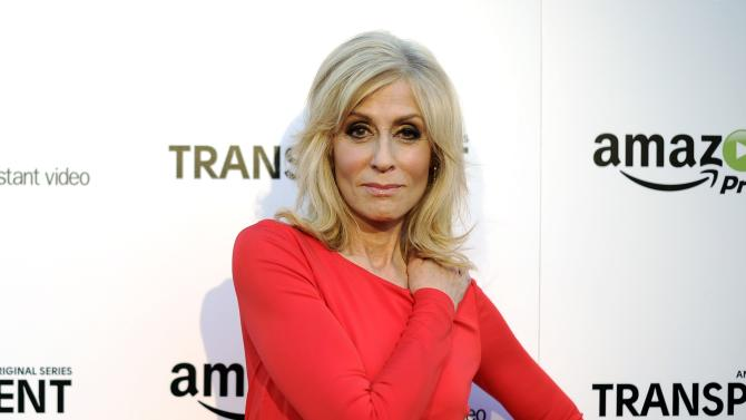 "Light poses during Amazon's premiere screening of ""Transparent"" in downtown Los Angeles"