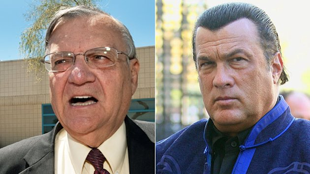 Seagal Calls Arpaio Posse Critics 'Embarrassment to Human Race' (ABC News)