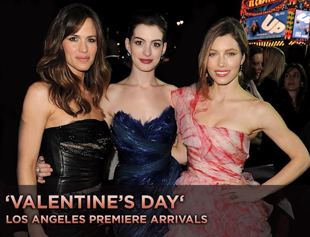 Valentines Day LA Premiere title card 2010