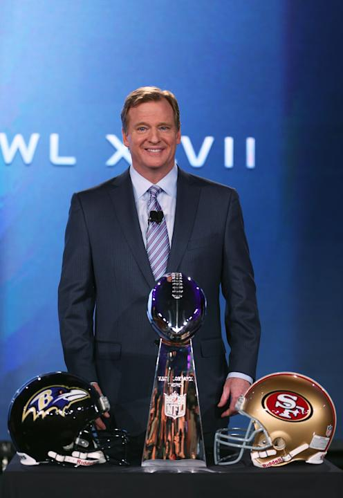 NFL Commissioner Roger Goodell News Conference