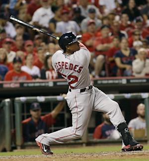 Cespedes' homer lifts Red Sox to 3-2 win over Reds