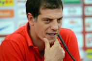 Croatian Slaven Bilic, seen here in June 2012, who took over as coach at Lokomotiv Moscow after the Euro 2012 championship, has said he aims to get his team playing more consistently and with improved teamwork