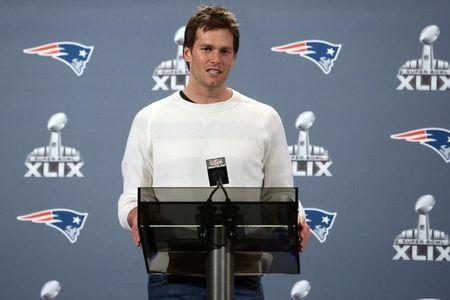 NFL: Super Bowl XLIX-New England Patriots Press Conference