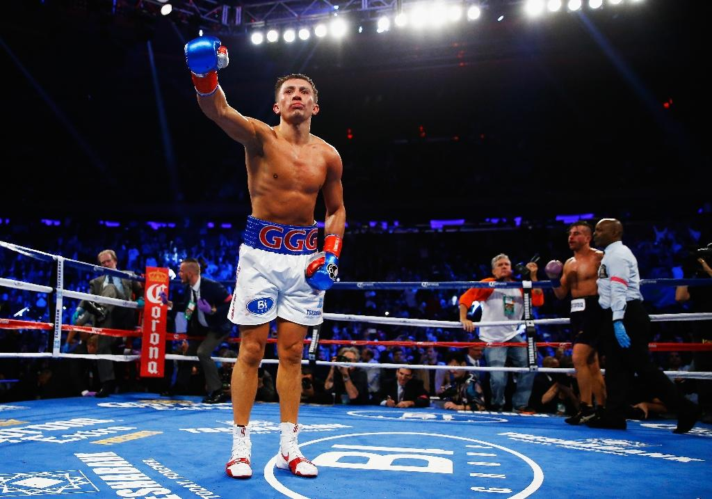 Golovkin to defend titles in April