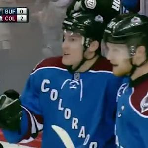 Tyson Barrie Goal on Matt Hackett (03:29/2nd)