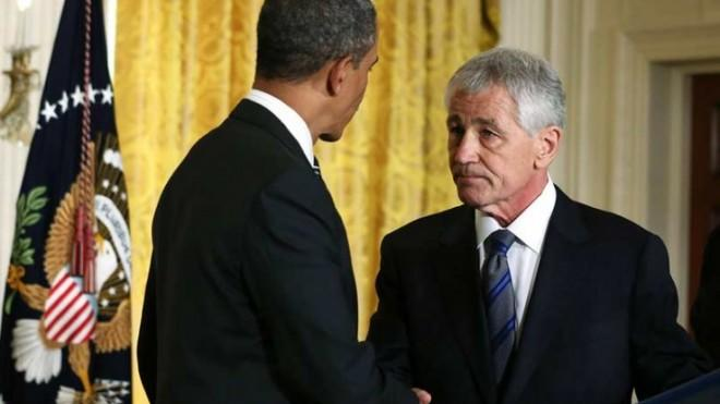 Despite opposition from both sides of the aisle, President Obama officially nominated Sen. Chuck Hagel (R-Neb.) on Jan. 7.