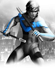 Batman's sidekick Nightwing is hotly rumoured to be on the cards