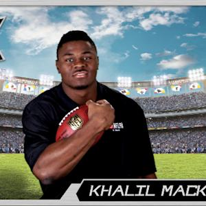 Virtual Rookie Card: Khalil Mack