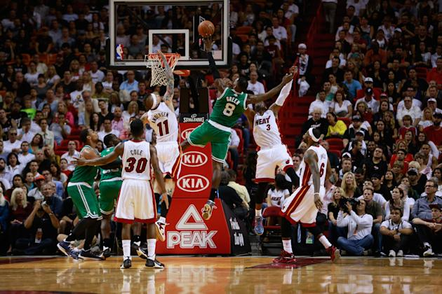 Boston Celtics v Miami Heat