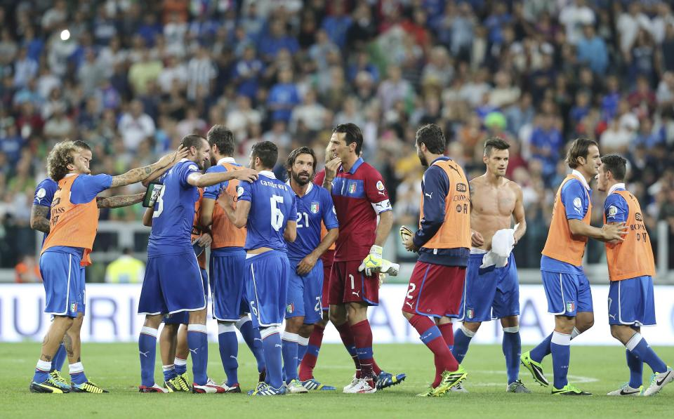 Italy, Netherlands qualify for 2014 World Cup