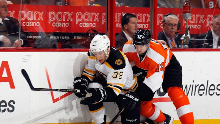 Boston Bruins v Philadelphia Flyers