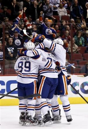 Oilers beat Coyotes 2-1 in overtime