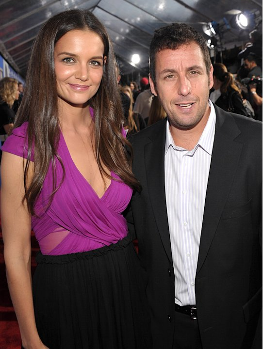 Jack and Jill LA Premiere 2011 Katie Holmes Adam Sandler