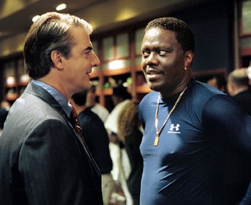Christopher Noth and Bernie Mac in Touchstone Pictures' Mr. 3000