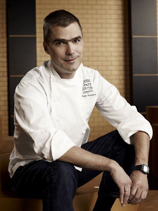 "Hugh Acheson competes in ""Top Chef Masters."""