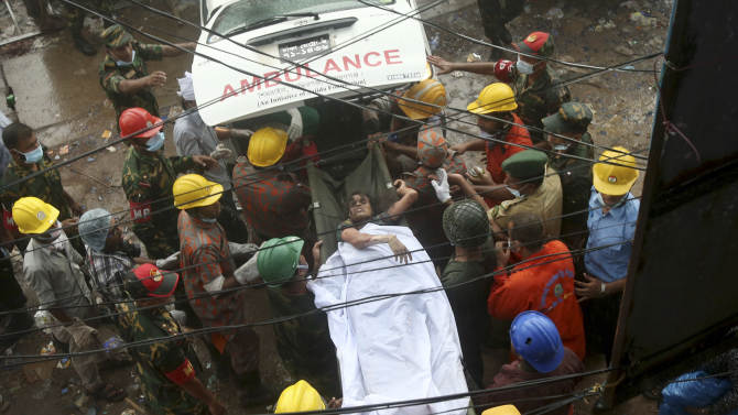 Collapsed building owner arrested on India border