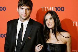 Ashton Kutcher cheated on Demi Moore on his wedding anniversary