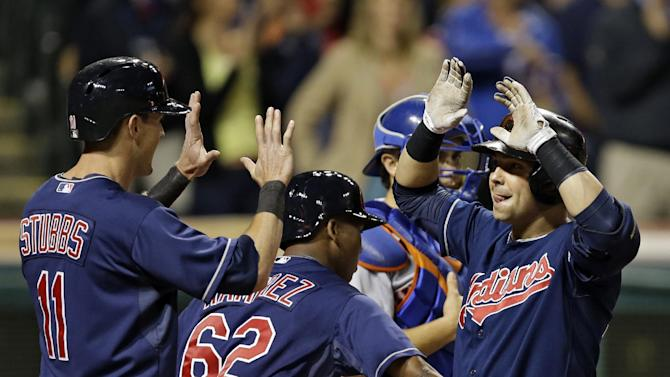 Kazmir pitches Indians to 8-1 win