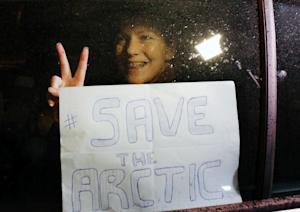"""Greenpeace International activist, one of the """"Arctic…"""