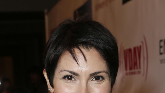 Mariana Santangelo attends A New Way of Life Reentry Project 14th Annual Fundraising Gala on Sunday December 9, 2012 in Los Angeles, California.  (Photo by Todd Williamson/Invision/AP Images)