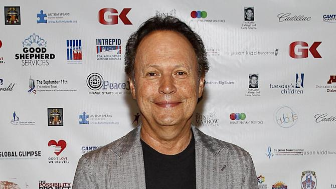 "FILE - This Sept. 11, 2013 file photo shows actor-comedian Billy Crystal at the Annual Charity Day hosted by Cantor Fitzgerald and BGC Partners in New York. Crystal has agreed to star in a new television series where he's paired with Josh Gad in a story about two comics in a generational clash. The series, ""The Comedians,"" is set to air on the FX network in 2015. FX said on Wednesday that it had ordered 13 episodes. (Photo by Mark Von Holden/Invision/AP, File)"