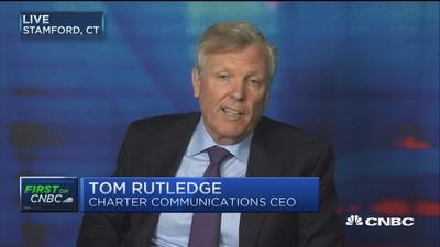 Charter-TWC will be 'relatively small': Rutledge