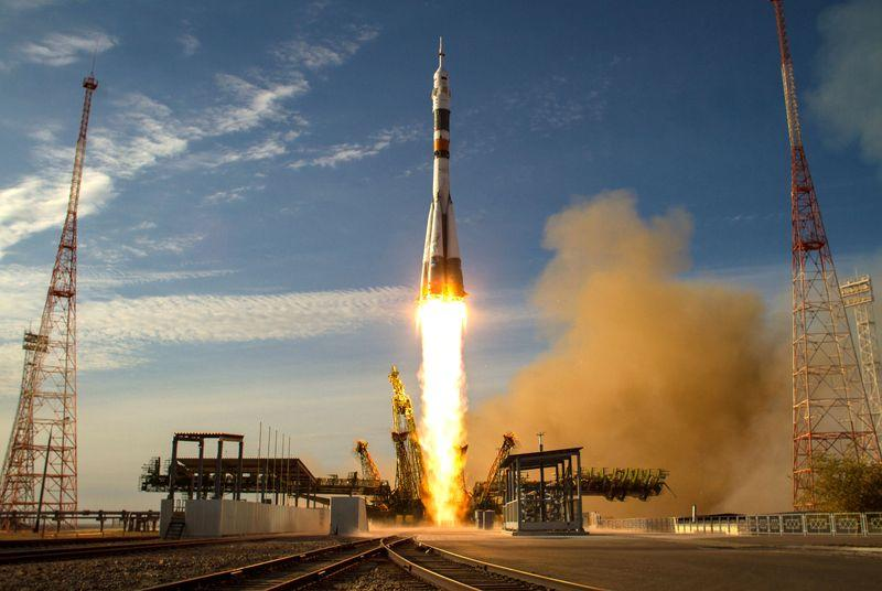 Watch the Expedition 43 astronauts launch to space for a one-year mission