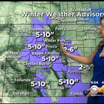 Friday's Forecast: Winter Weather Surging Back To Colorado