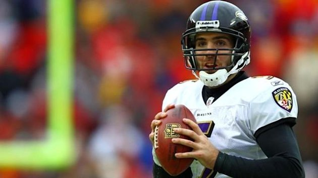 2011 NFL Playoffs Baltimore Ravens Joe Flacco