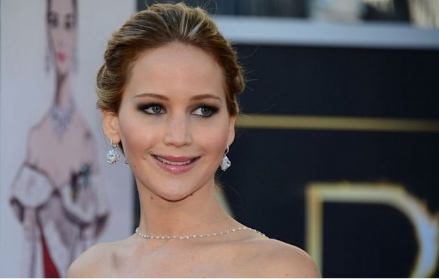 Jennifer Lawrence arrives …