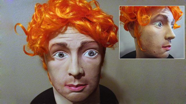 James Holmes Halloween Mask on eBay