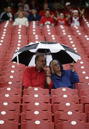 Cubs at Reds game postponed because of rain