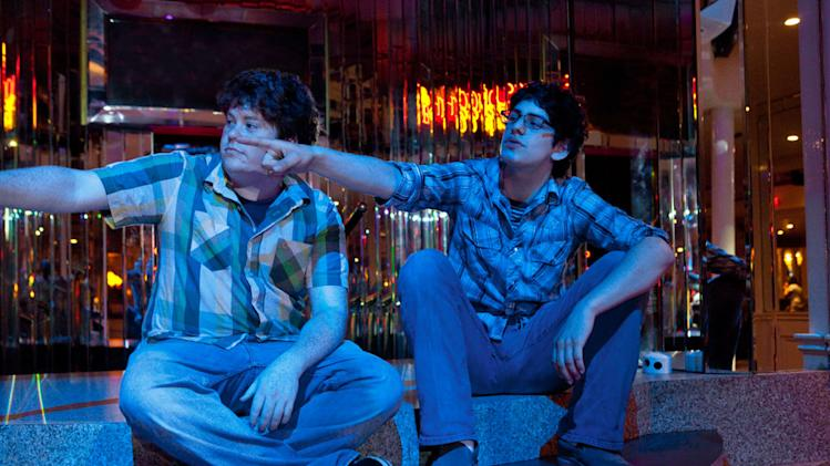 Zack Pearlman Matt Bennett The Virginity Hit Production Stills Columbia 2010