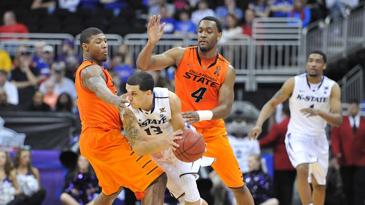 NCAA Basketball: Big 12 Tournament-Kansas State vs Oklahoma State
