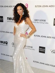Actress Sofia Milos arrives at the 2013 Elton John AIDS Foundation Oscar Party in West Hollywood, California, February 24, 2013. REUTERS/Gus Ruelas