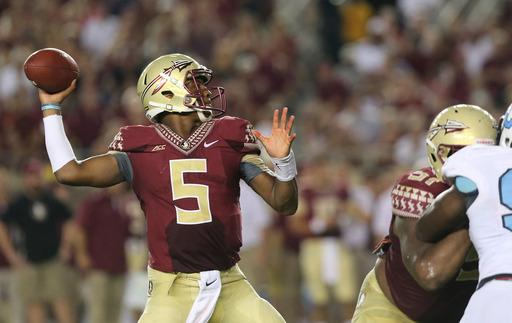 FSU coach may bench QB Winston after lewd remark