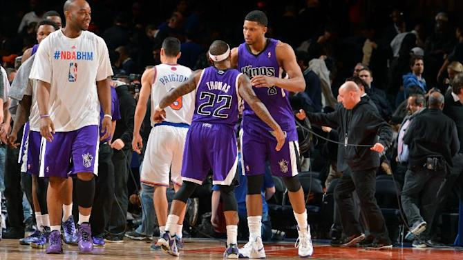 Gay, Fredette help Kings beat Knicks 106-101 in OT